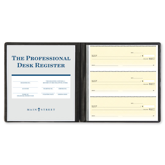 The Professional Desk Register