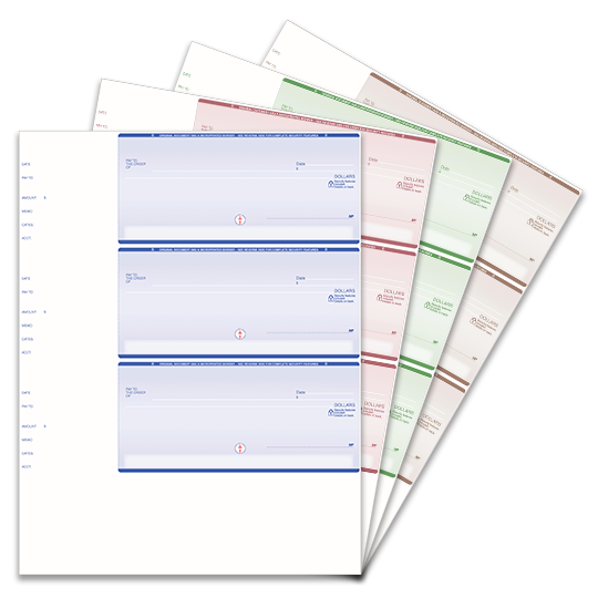 3 Per Page Wallet Size Checks