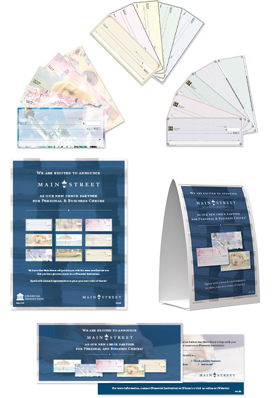 Main Street, Inc. Check Program Marketing Materials